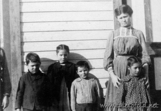 School Children in Dickens County, Texas