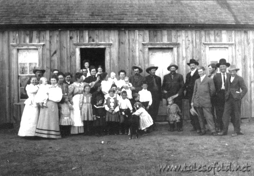A Get-together at the Legg Home in Dickens County, Texas