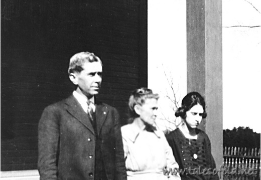 Garfield , Elizabeth, and Lottie Daniel