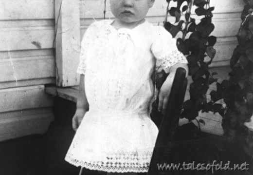 Esther Williams as a Child