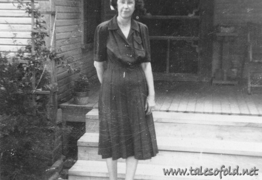 Lottie Daniel Strong at her Home in Waco, Texas
