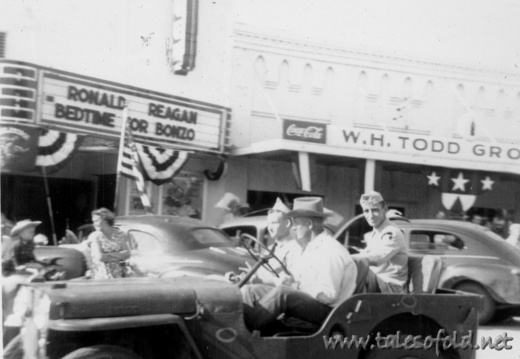 Llano, Texas Homecoming, June 7, 1951
