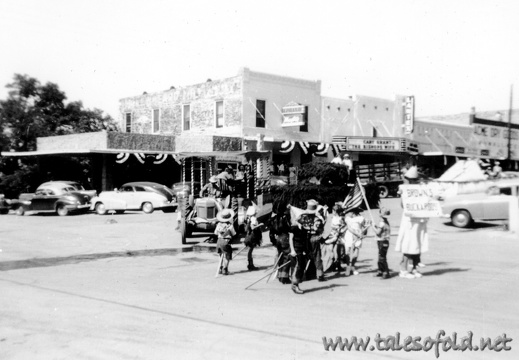 Llano, Texas Homecoming, June, 1948