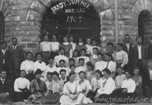 Brady Summer Normal School 1907