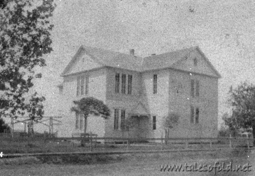 High School in Alvin, Texas Circa 1906