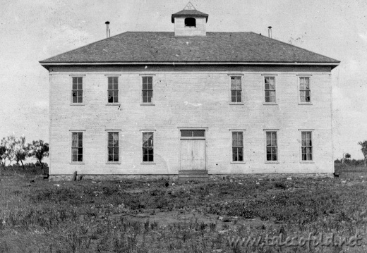 The First School at Mercury, Texas