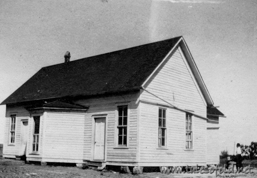Schoolhouse at Fife, Texas