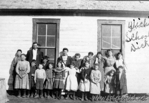 Wichita School, Dickens County, Texas