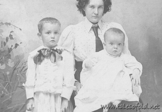 An Unidentified Woman and Children (#12)